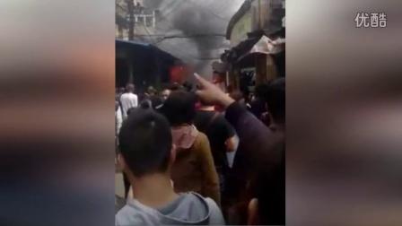 实拍:安徽芜湖液化气爆炸瞬间 17人遇难