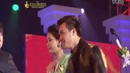 Van Thinh, Ngoc Lan awarded the 'Vietnam Model Star Award' at the 2011 Asia Mode