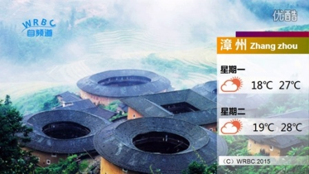福建天气预报 模板(测试版)