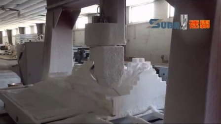 青岛速霸雕刻机加工中心视频 五轴加工中心雕刻加工视频