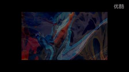 抽象流彩艺术绘画