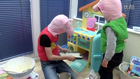 Peppa Pig shows you how to make Muddle Puddle Cup Cakes #纸杯蛋糕 151015