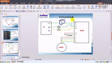 3.4、顾美PLC、步进电机与驱动器接线方法