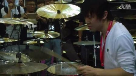 2015年上海乐展峻树打鼓鼓视频【3】