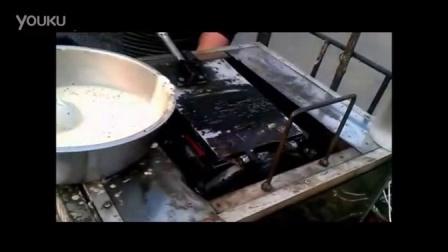 滚筒六面蛋卷机厂家5 永川县手摇冰淇淋蛋卷机 做鸡蛋饼的机器