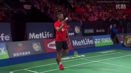 2015 丹麦羽毛球公开赛:林丹VS安赛龙