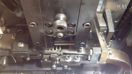 全自动排线分线压端子机