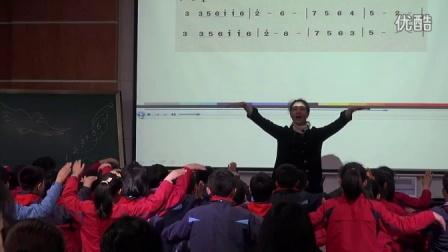 人音版音樂六下第7課《和平頌》課堂教學視頻實錄-駱琴琴