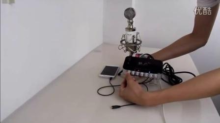魅声手机K歌专用音频连接线通用接法/安卓使用教程