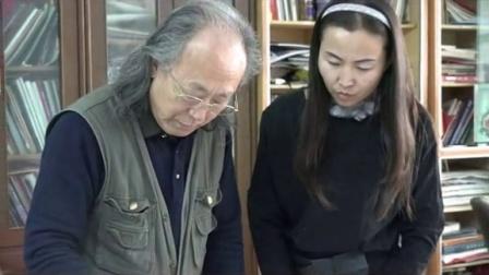 中国书画教育家周明智传授墨牡丹绘画技法