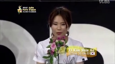 2012 Asia New Star Model Contest Final Round Broadcasted Video