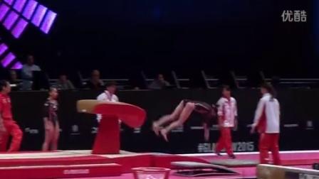 Yuki Uchiyama JPN VT Podium Training Sub 2 2015 Worlds Glasgow (HD)