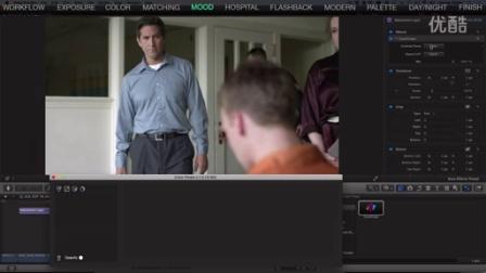 Final Cut Pro X  如何给电影调色的教程
