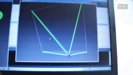 X 4柔索并联机器人测试2
