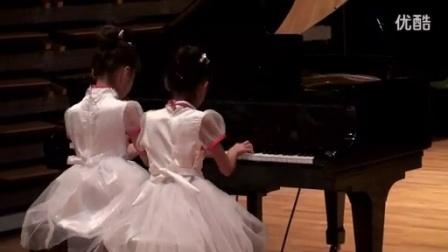 韦佳煦、庄昀菲 四手联弹《茉莉花》2015国际青少年钢琴公开赛比赛现场-------常州钢琴江老师_标清