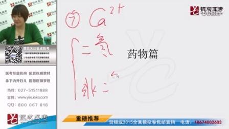 【银成医考】2015医师资格考试——循环系统药物(下)