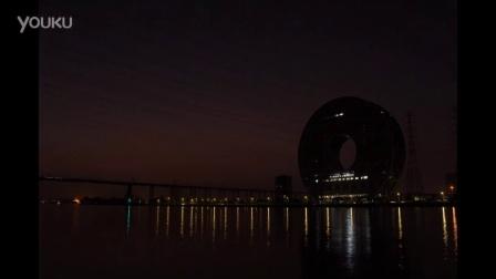 广州圆夜景延时摄影