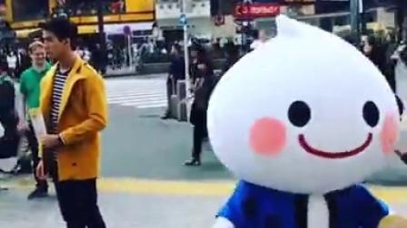Push在日本拍摄某糖果的广告