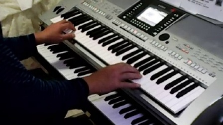 YAMAHA   S910电子琴演奏    我的快乐就是想你