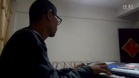 许哥弹《美国流浪汉弹的钢琴曲》