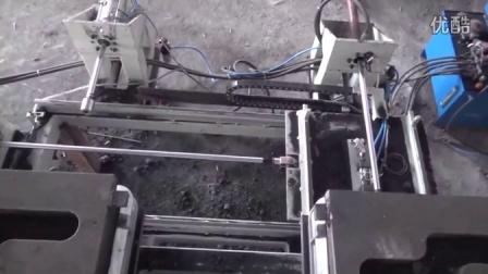 全自动水平造型机带辅线