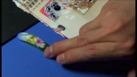 美甲教程步骤图解081学习美甲彩绘视频