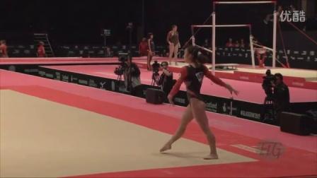 SASADA Natsumi (JPN) - 2015 Artistic Worlds - Qualifications Floor Exercise