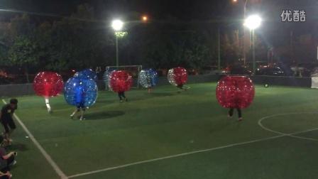 温州开始流行创意足球