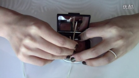 depotting Nars eyeshadows | 用牙线和牙签抠出Nars双色眼影 | HANYAN LI