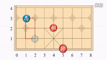 黑龙江省大庆市萨尔图区东新三小翟岩北师大四年级上册数学《位置与方向-马的下一步走到哪》