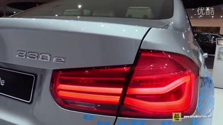 第一时间为你带来:2016款宝马330E混合动力 ,高清内外赏析,在2015年法兰克福车展。