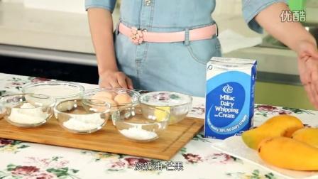 小鱼家吃货 2015' 教你做芒果班戟和芒果千层饼 09