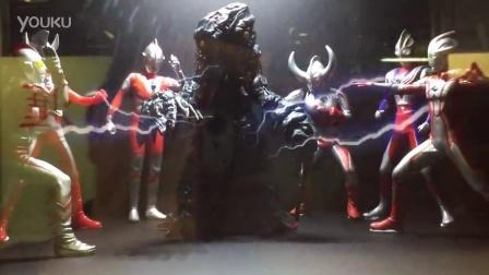 3Ds全息投影展示柜 奥特曼大战怪兽 HK x Ultraman