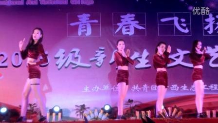 广西生态工程职业技术学院 迎2015级新生文艺晚会 经济贸易系 现代舞《Red apple of the dancer》