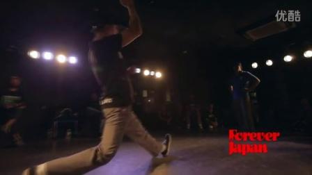 【太嘻哈】POPPIN FOREVER JAPAN JUDGE BATTLE best3 001 HOAN vs MADOKA