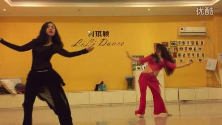 双流肚皮舞 利琪颖LiLi东方舞(会员舞蹈)俩同事小美女