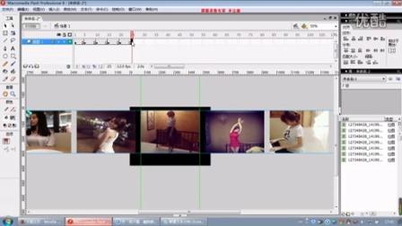 flash选择性图片切换制作视频教程 竹客令