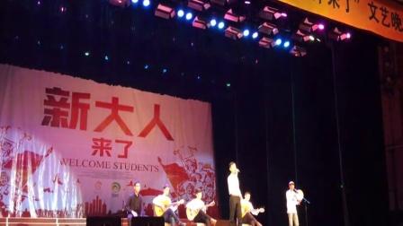 2015年大学迎新晚会Dilkuyi红湖吉他培训班《美丽姑娘》