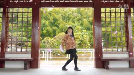 【团子☆】【GIF】笨手笨脚假装很帅气的 千本樱 【NDP2015】_ACG相关舞蹈_舞蹈