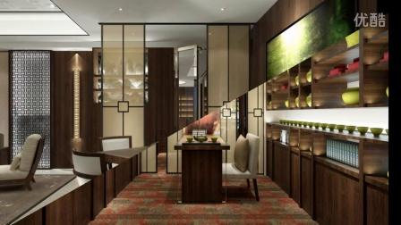 时尚清新的大宅国际现代简约中式风格别墅装修