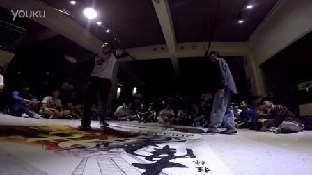 """桂林地大舞博""""南争北战""""街舞挑战赛海选视频12"""
