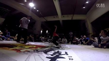 """桂林地大舞博""""南争北战""""街舞挑战赛海选视频15"""
