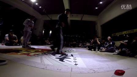 """桂林地大舞博""""南争北战""""街舞挑战赛海选视频22"""