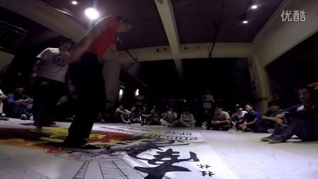 """桂林地大舞博""""南争北战""""街舞挑战赛海选视频16"""