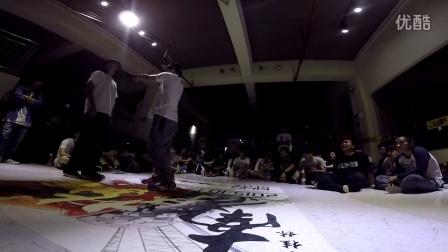 """桂林地大舞博""""南争北战""""街舞挑战赛海选视频19"""