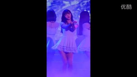 151104 首尔蚕室室内体育馆 G Market Concert Oh My Girl 刘诗雅 - Closer