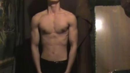 农村帅哥猛男健身运动-练就一身肌肉
