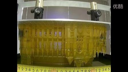 LCD 3D打印机 打印模型过程展现。惊现制作过程,以后房子要打印?