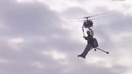 世界上最小的直升机-Worlds smallest One-man Helicopter GEN H-4 by ADEYTO