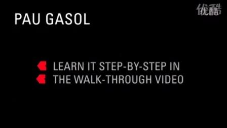 【NBA篮球招牌动作】加索尔Gasol转身Spin